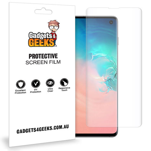 Aerios 2x Full Coverage TPU Screen Protector for Samsung Galaxy S10